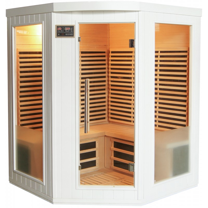 Sauna exterieur infrarouge best sauna extrieur with sauna for Sauna vapeur exterieur