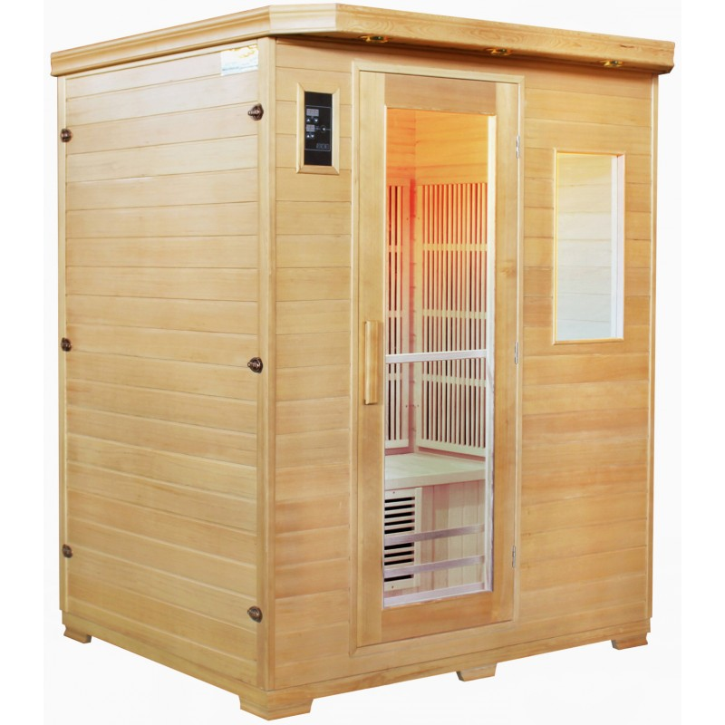 sauna infrarouge exterieur sauna infrarouge pas cher sauna exterieur pas cher with sauna. Black Bedroom Furniture Sets. Home Design Ideas