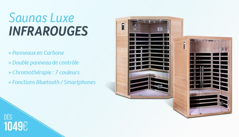Saunas infrarouges Sno